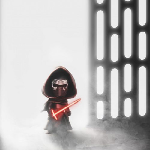 Kylo Ren at Rehab Florida