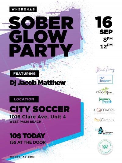 Wherehab believes in celebrating sobriety featuring Dj Jacob Matthews
