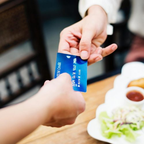 Giving addicts money with credit cards